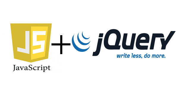 javascript and jQuery logos